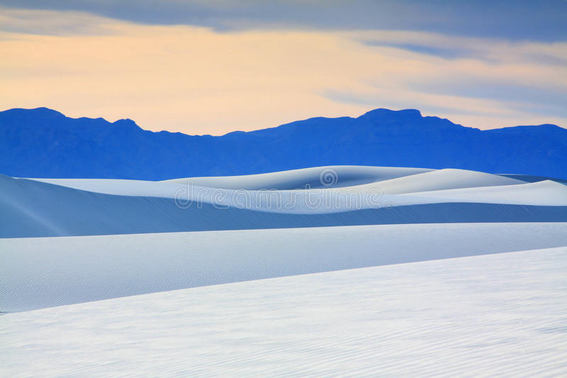White Sands. National Monument New Mexico royalty free stock images