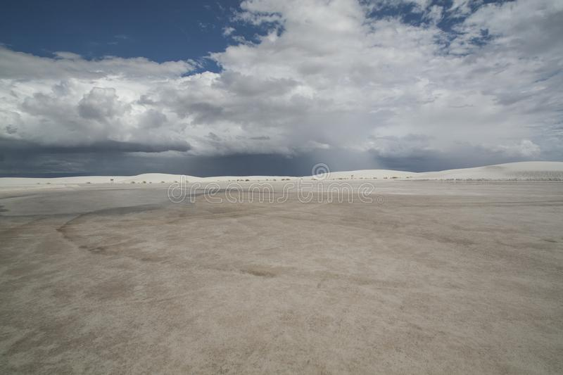 White Sands, National Monument, New Mexico, USA. stock photo