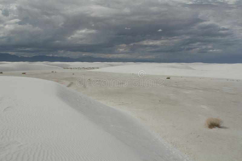 White Sands, National Monument, New Mexico, USA. royalty free stock photos