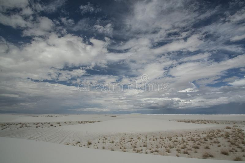 White Sands, National Monument, New Mexico, USA. royalty free stock images