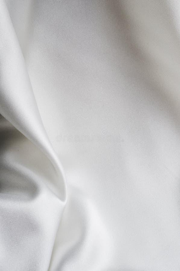 White Satin Stock Photography