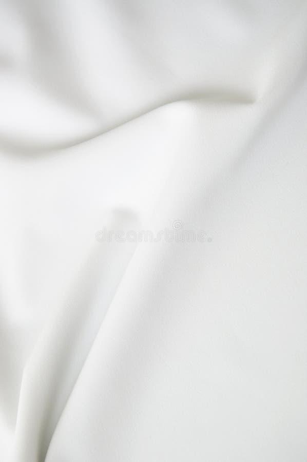White satin with copyspace. White smooth satin with copyspace stock photos