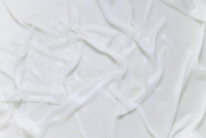 White satin silk royalty free stock photo