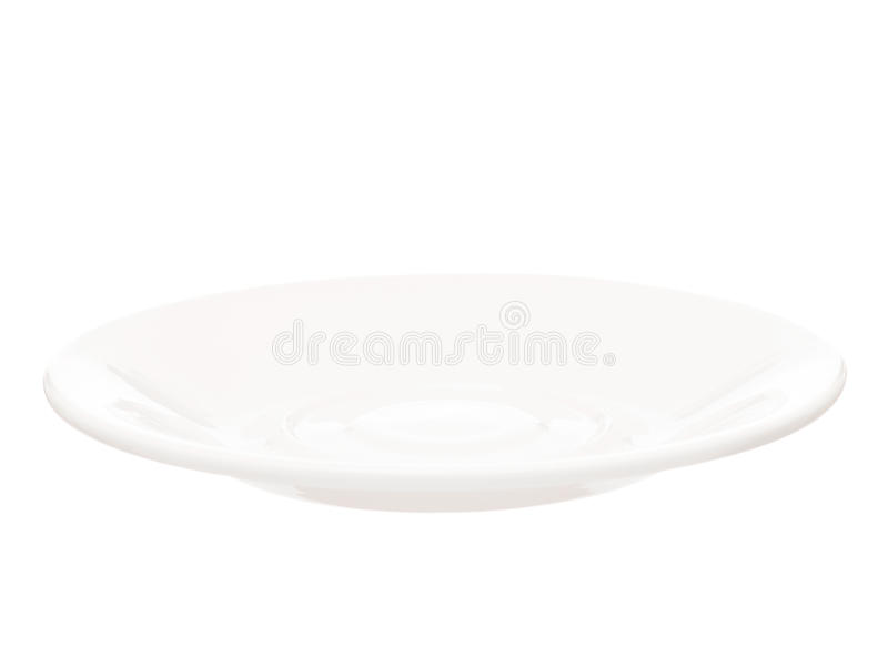 Download White saucer stock image. Image of porcelain, plate, serve - 29154389
