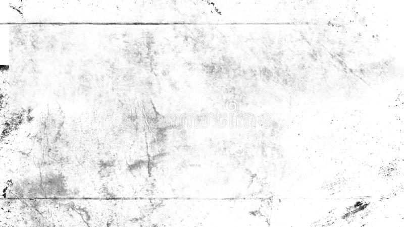 White scratched grunge background, old film effect for text stock images