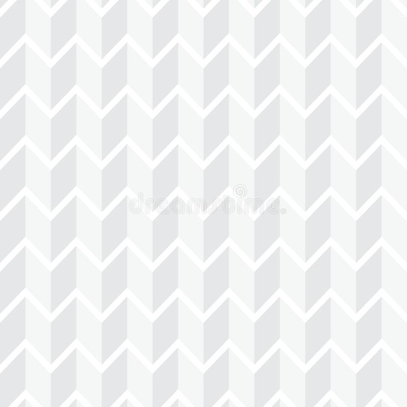 White seamless geometric pattern. Simple clean white background. Texture royalty free illustration