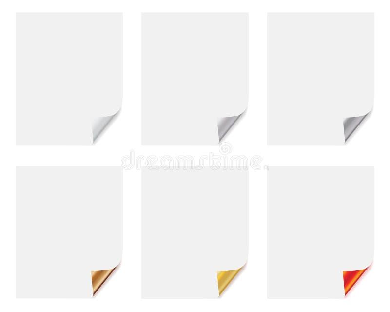 White Sheets Stock Photo