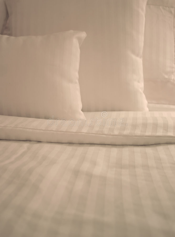 White Sheets stock images