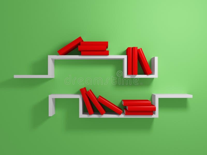 Download White shelves stock illustration. Image of interior, culture - 23554937