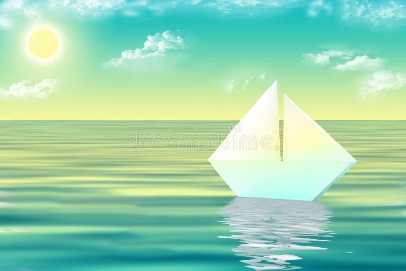 Download White Ship Royalty Free Stock Photo - Image: 18120915