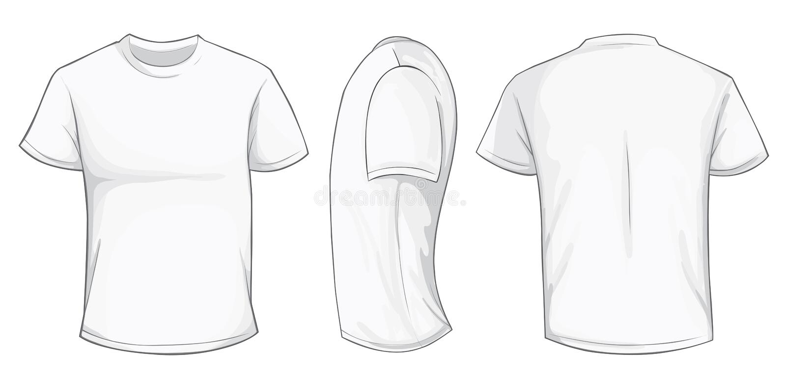 t shirt template vector - Vatoz.atozdevelopment.co