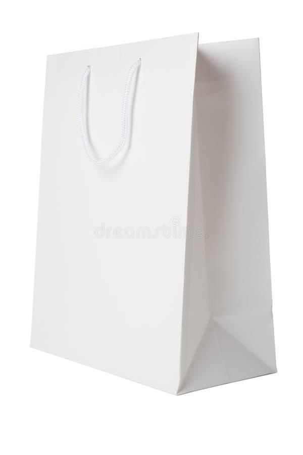Free White Shopping Bag Stock Photography - 13690462