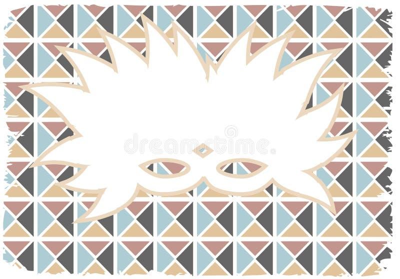 Download White Silhouette Mardi Gras Mask Grunge Edges Stock Illustration - Image: 17026368