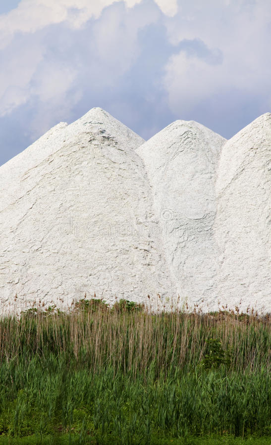 Free White Silica Mounds Stock Photography - 14616552