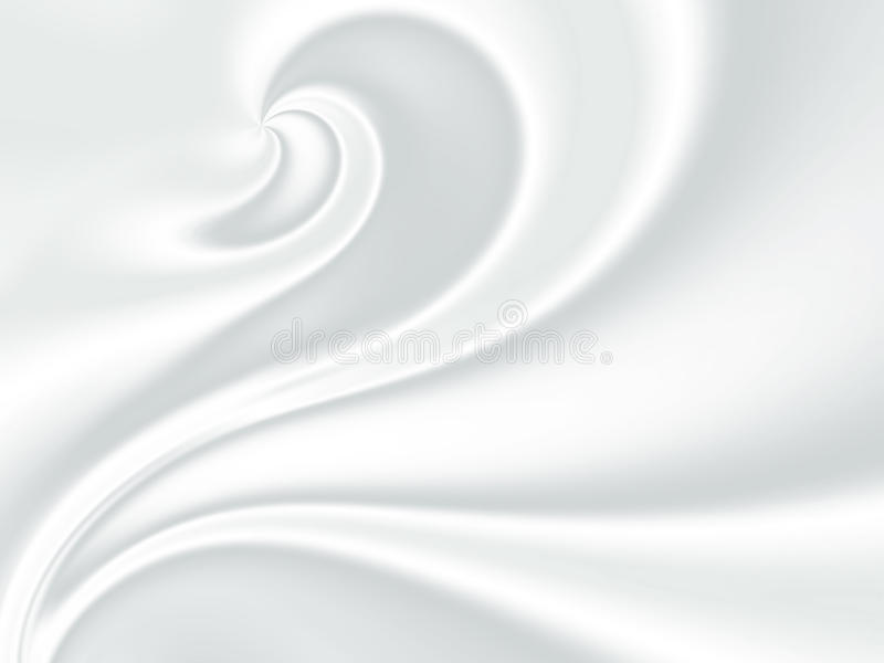 White silk. Abstract background of white silk lines royalty free illustration