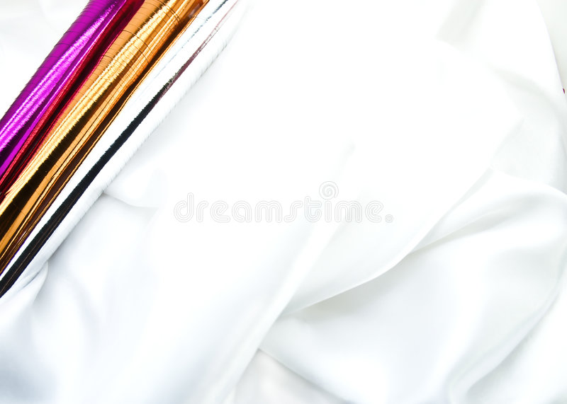 White silk stock images