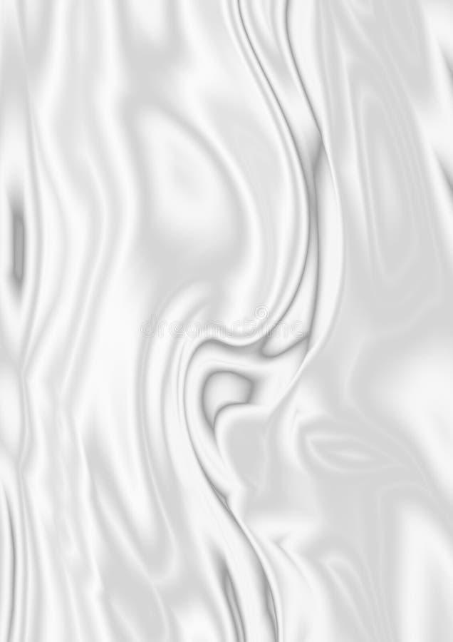 White silk as wedding background. White silk for wedding holiday background royalty free illustration
