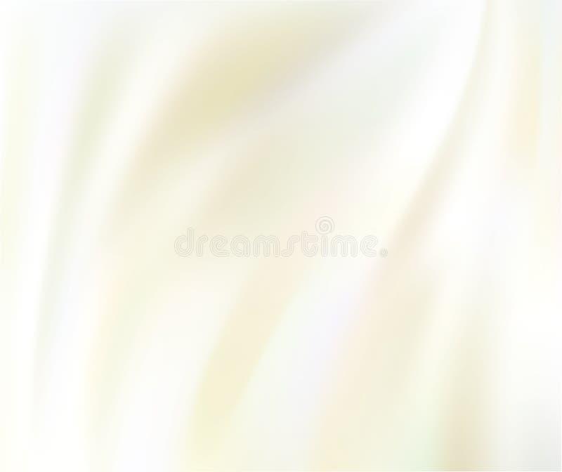 White silk background. White silk fabric for backgrounds, vector illustration stock illustration