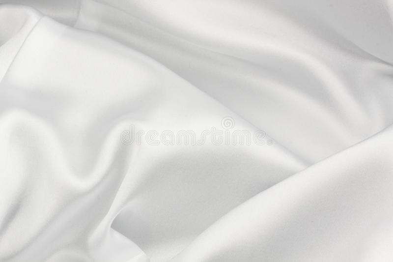 White Silk Cloth Royalty Free Stock Photo