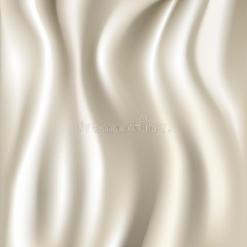 White silk fabric texture royalty free illustration