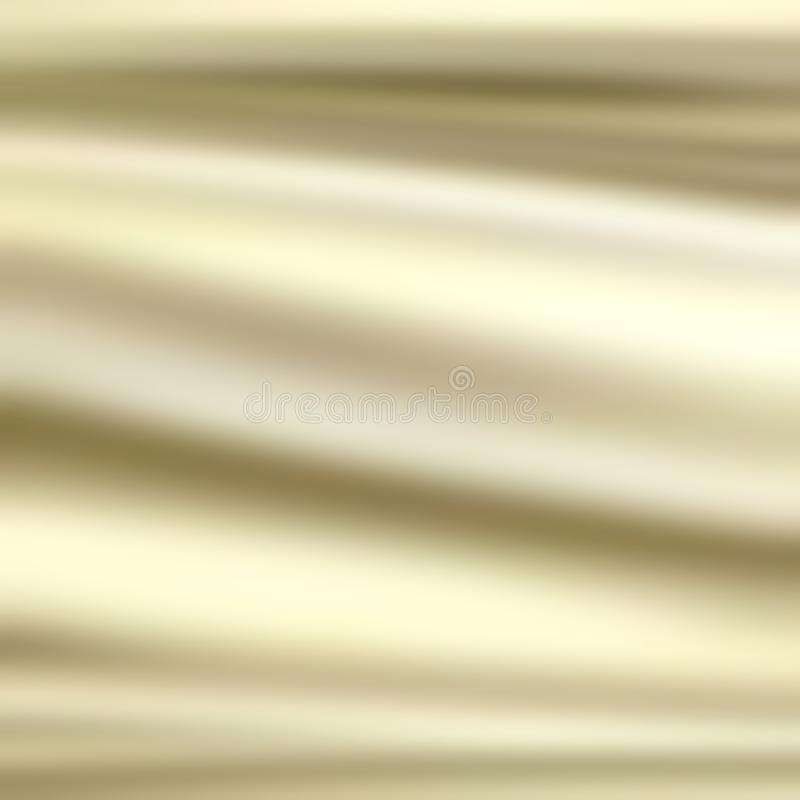 White silk texture - abstract waves pattern. Luxury background, white silk fabric, abstract waves, irregular pattern, white curtain background stock illustration