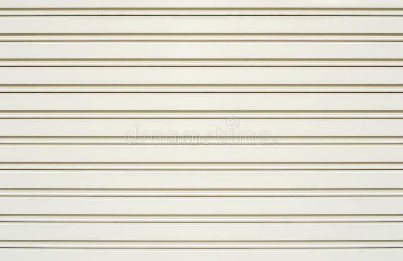 White Slide Door Roller Shutter Stock Photo Image 33547780