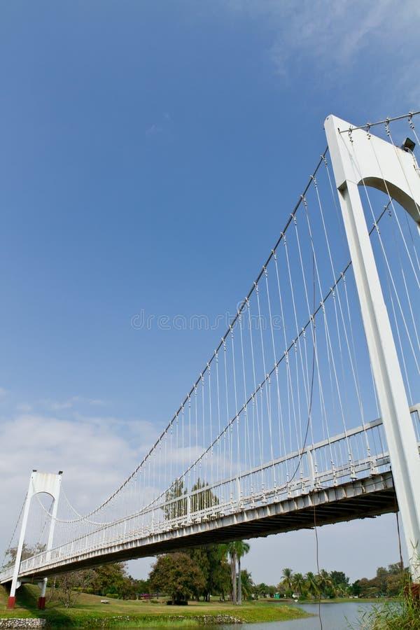 White sling bridge