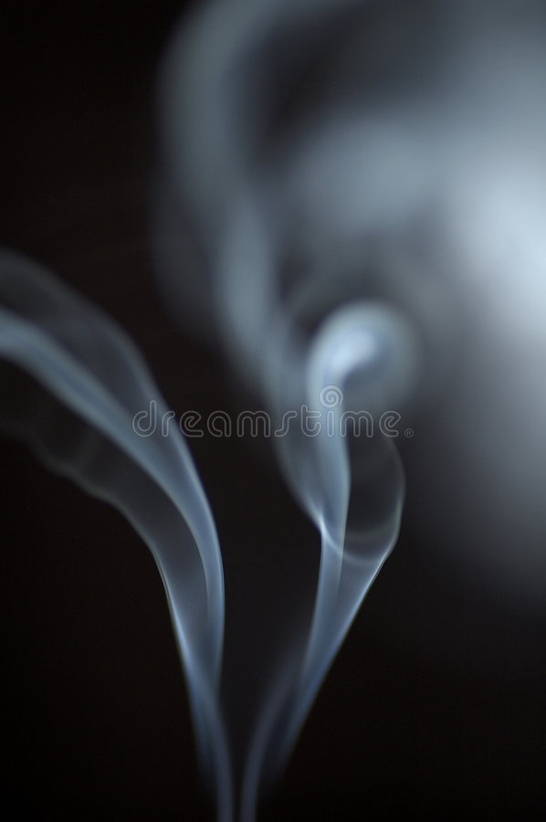 White Smoke 2 stock photography