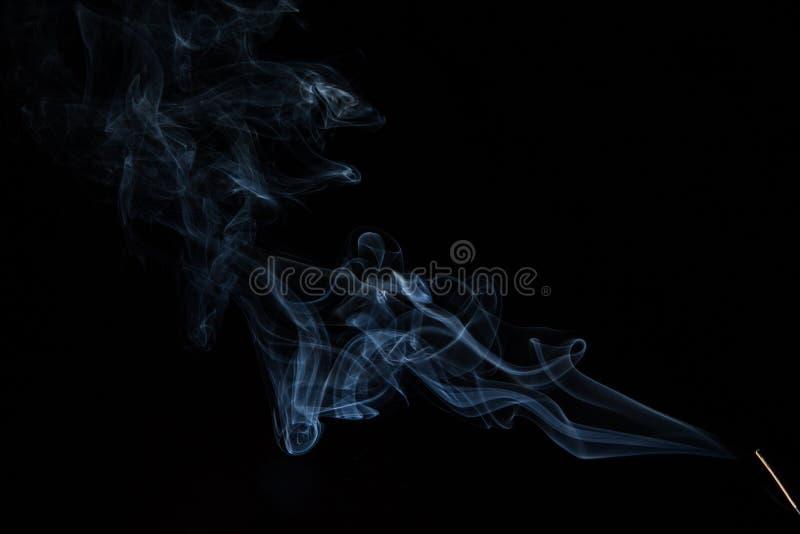 White Smoke royalty free stock image