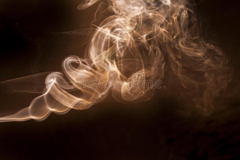White smoke royalty free stock images