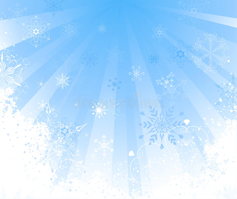 Download White snow stock vector. Image of shiny, abstract, brittle - 21665178