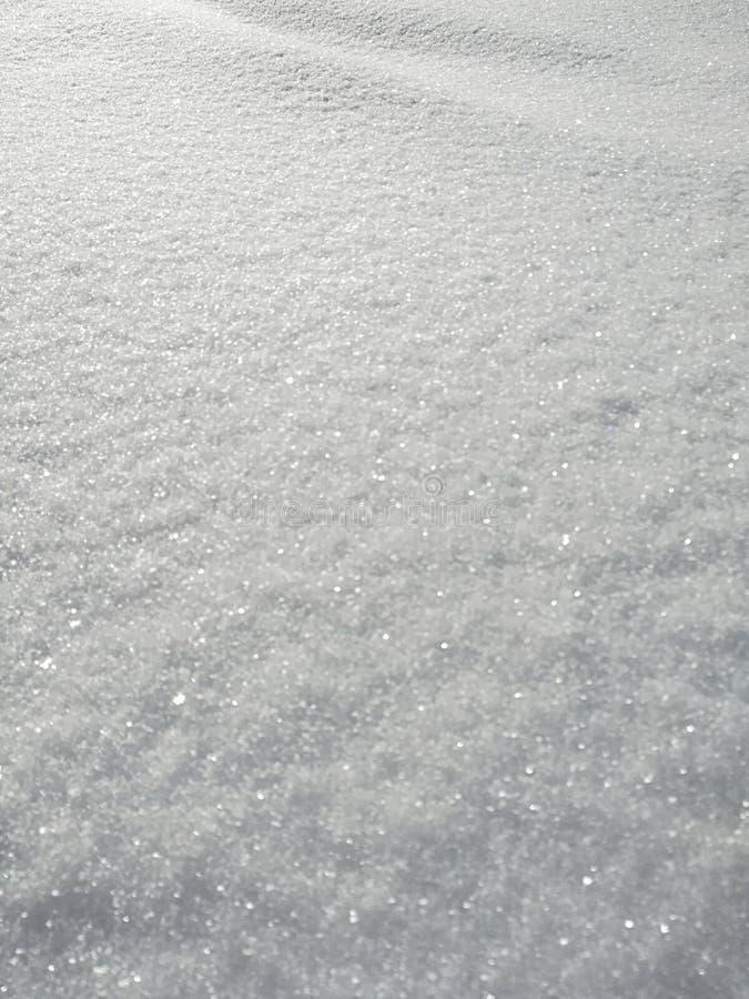 White snow winter stock photo