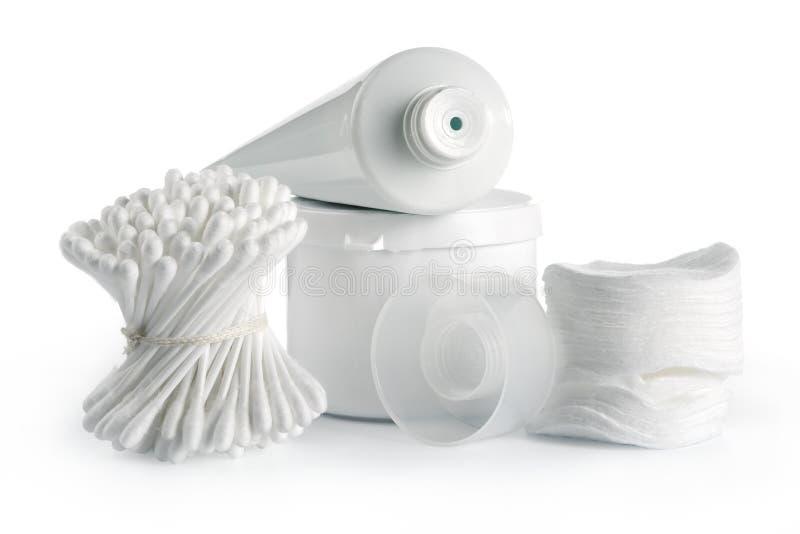 White spa en hygiëne royalty-vrije stock foto's