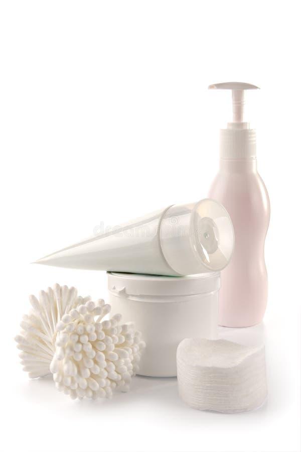 White spa en hygiëne royalty-vrije stock foto