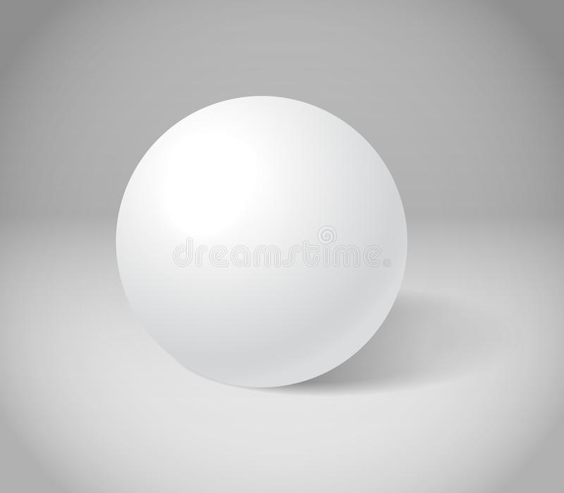 Download White sphere stock vector. Image of corporate, blank - 24623908