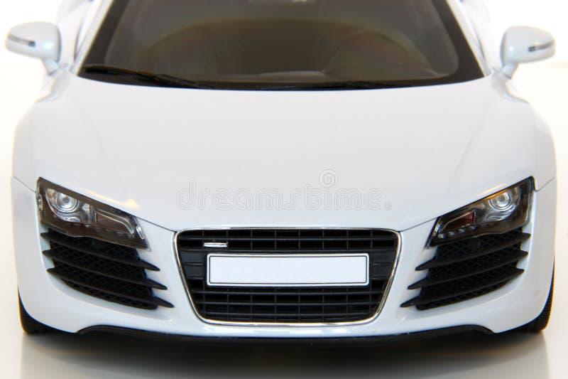 White Sports Car royalty free stock photos
