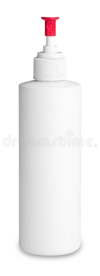 Free White Spray Bottle Royalty Free Stock Image - 23407306
