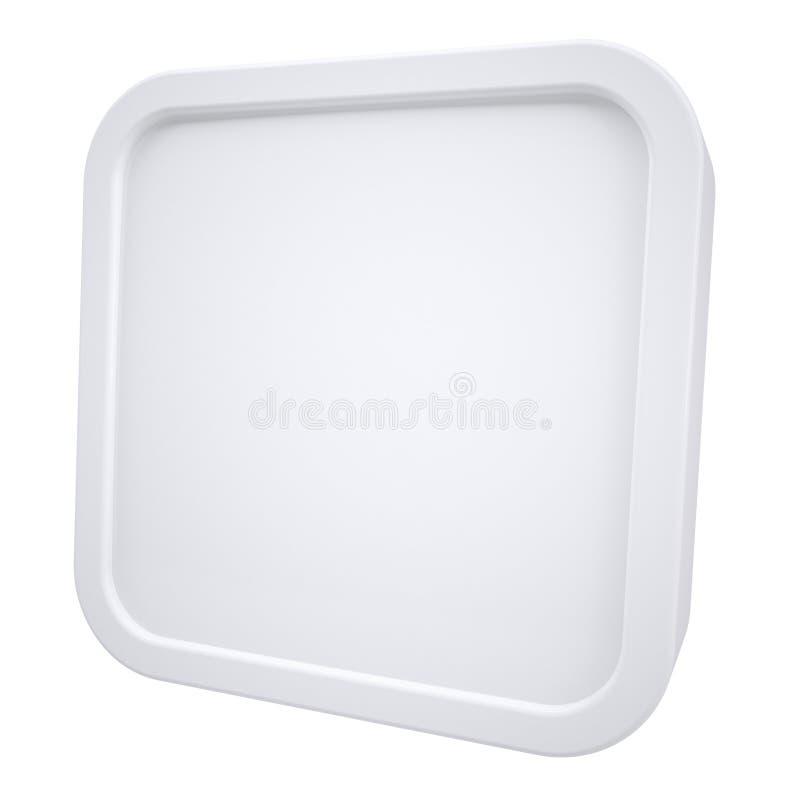 White Square Frame Stock Images