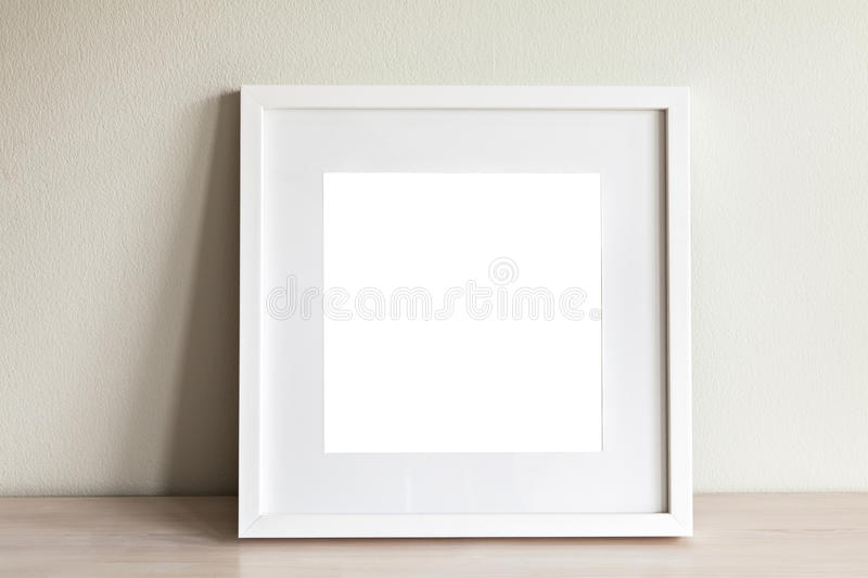 Download White square frame mockup stock image. Image of empty - 67731905