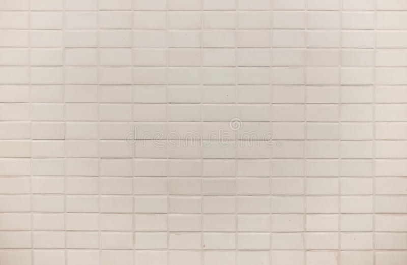 White square tile wall background texture.  stock photography