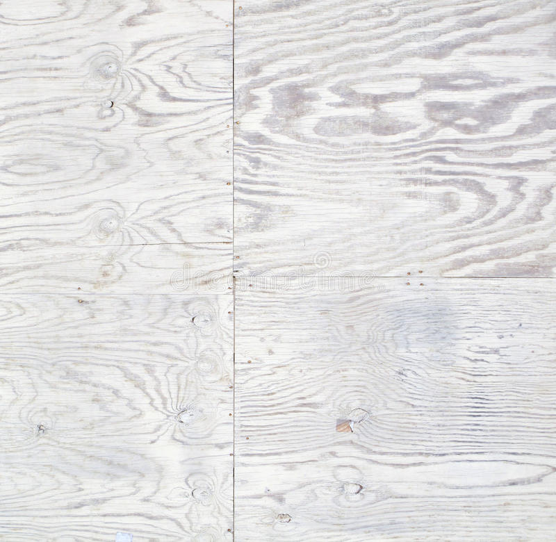 White Wash Stain On Maple: White Stained Weathered Plywood Stock Image