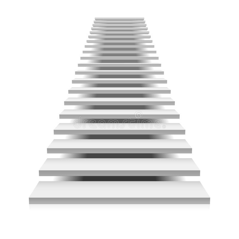 white staircase stock vector illustration of achievement stairs clipart cartoon stairs clipart transparent