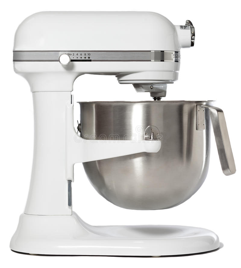 Download White Stand Mixer stock photo. Image of blender, mixer - 36322180