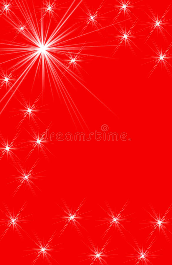 Free White Star Designs On Red Vertical Background Royalty Free Stock Photos - 10233118
