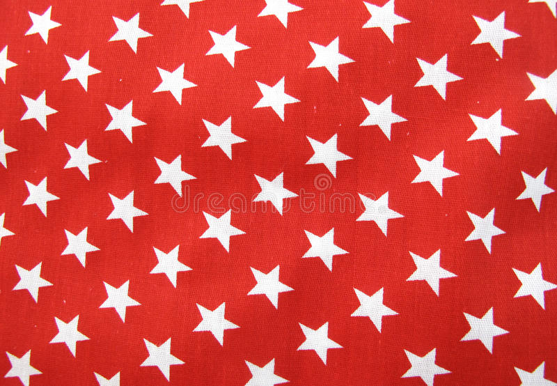 Download White Stars On Red Cloth Material Stock Photo - Image of photography, flag: 12335258