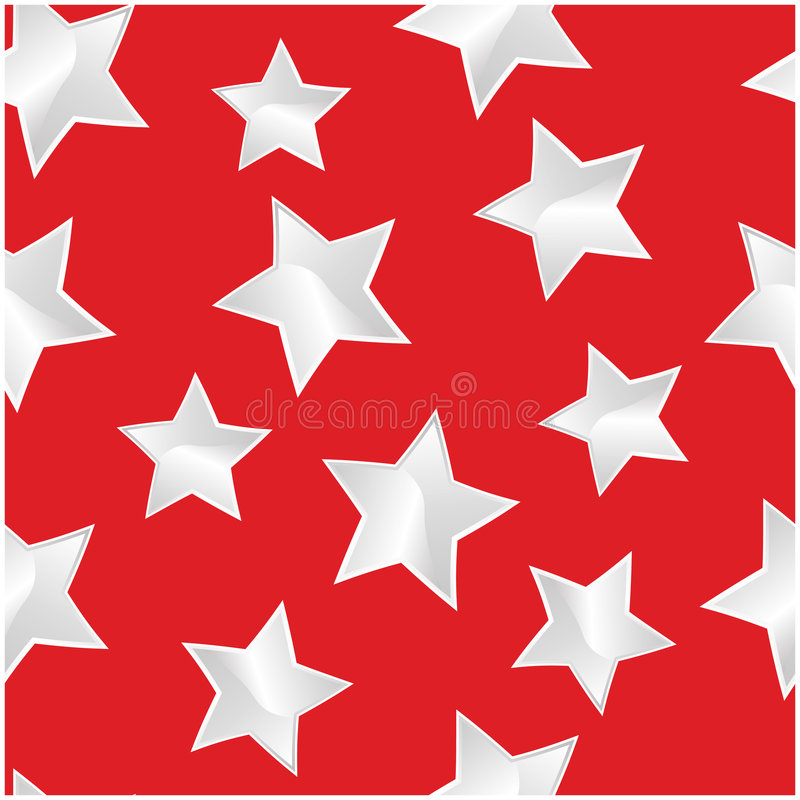 White stars texture. For repeat any time stock illustration