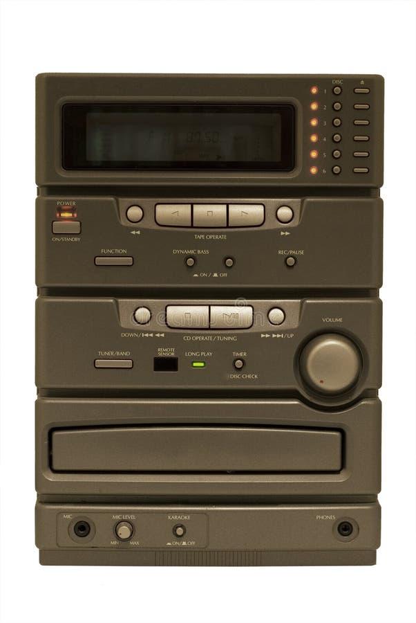 white stereo obrazy stock