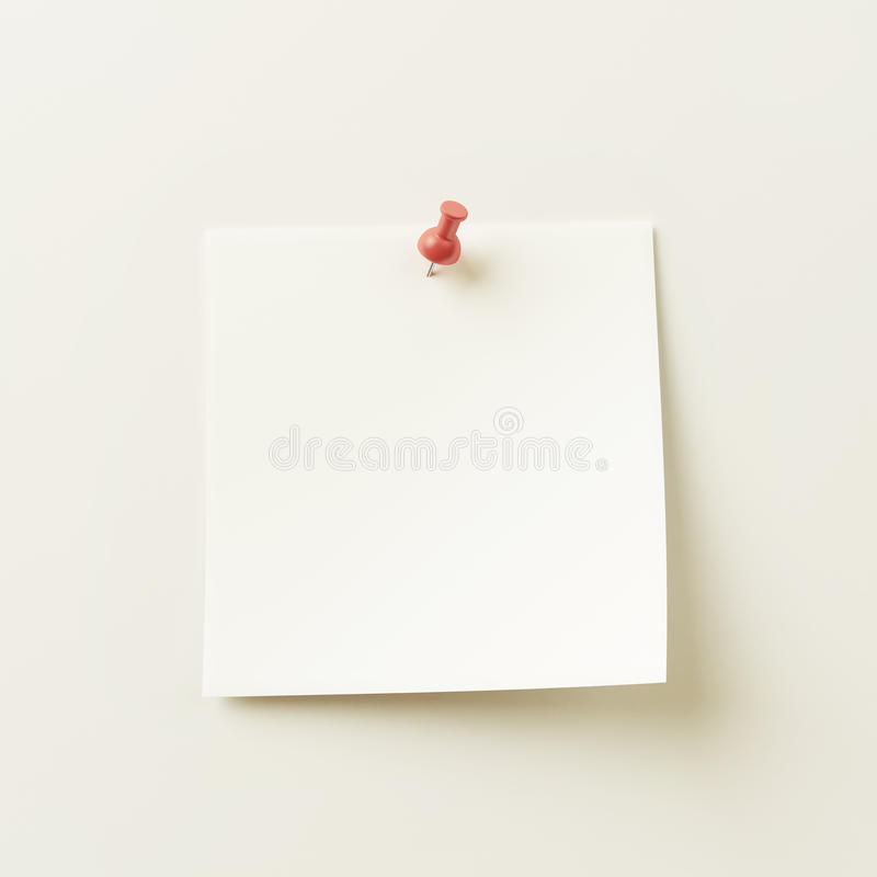 Download White Sticky Note stock illustration. Image of backgrounds - 28646792