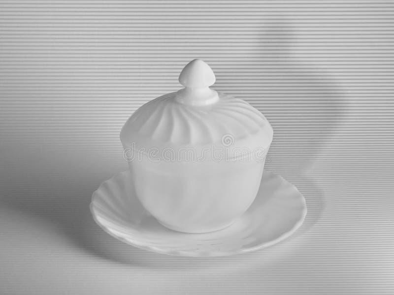 White still life stock image