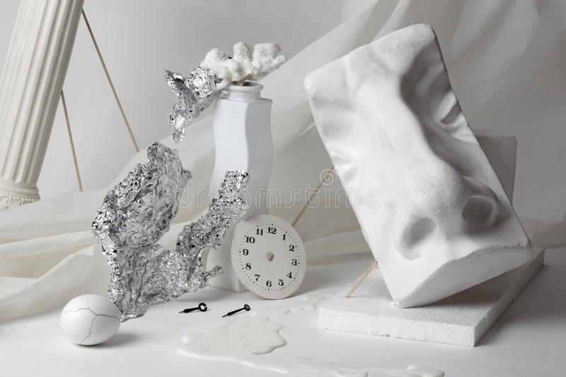 Download White still life whit nose stock image. Image of life - 26053929